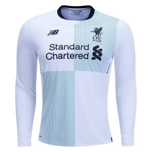 Camiseta nueva Liverpool Long Sleeve Away 2017/2018