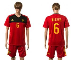 Camiseta Belgium 6# 2015-2016