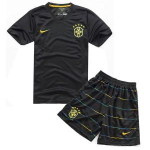Camiseta de Brasil de la Seleccion WC2014 Tercera Nino
