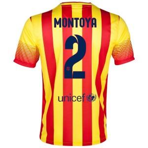 Camiseta de Barcelona 2013/2014 Segunda Montoya