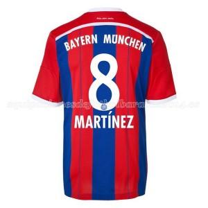 Camiseta Bayern Munich Martinez Primera Equipacion 2014/2015