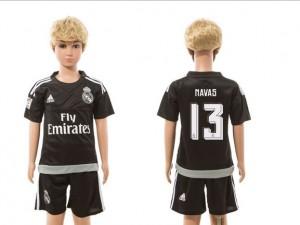 Camiseta nueva Real Madrid Niños goalkeeper 13 2015/2016