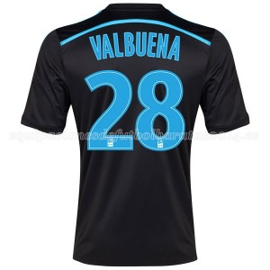 Camiseta Marseille Valbuena Tercera 2014/2015