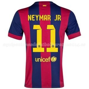 Camiseta nueva del Barcelona 2014/2015 Neymar JR Primera