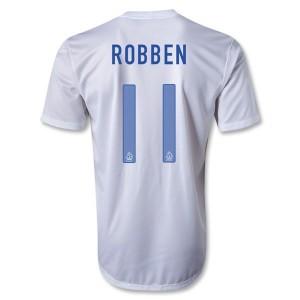 Camiseta nueva del Holanda 2013/2014 Robben Segunda