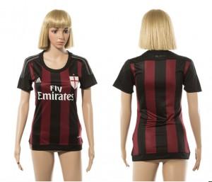 Camiseta nueva del AC Milan 2015/2016 Mujer