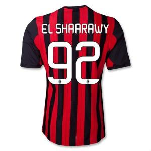 Camiseta nueva del AC Milan 2013/2014 Equipacion El Shaarawy Primera