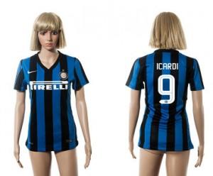 Camiseta nueva del Inter Milan 2015/2016 9 Mujer