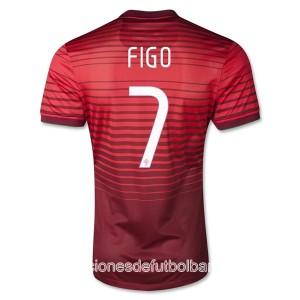 Camiseta nueva del Portugal de la Seleccion 2013/2014 Figo Primera