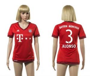 Camiseta de Bayern Munich 2015/2016 3 Mujer
