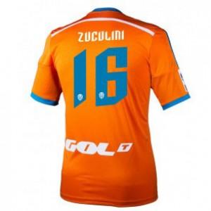 Camiseta nueva Valencia Bruno Zuculini Equipacion Segunda 2014/2015