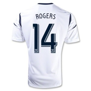 Camiseta nueva del Los Angeles Galaxy 2013/2014 Rogers Primera