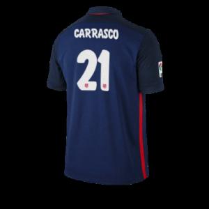 Camiseta nueva Atletico Madrid CARRASCO Equipacion Segunda 2015/2016