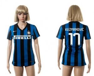 Camiseta de Inter Milan 2015/2016 17 Mujer