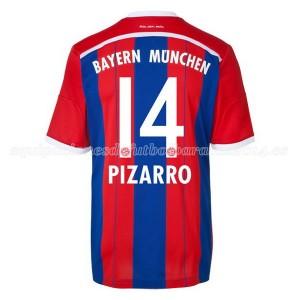 Camiseta nueva del Bayern Munich 2014/2015 Equipacion Pizarro Primera