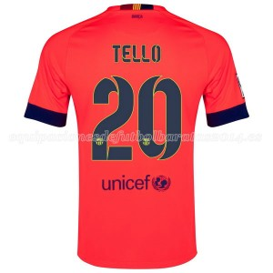 Camiseta de Barcelona 2014/2015 Segunda Tello