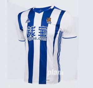Camiseta del Real Sociedad Primera 2016/2017