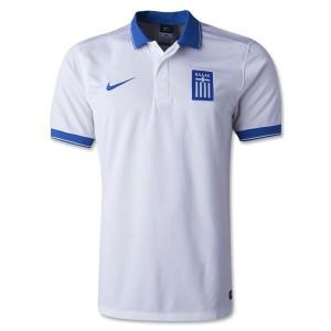 Camiseta nueva Grecia de la Seleccion Primera 2014