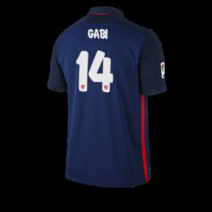 Camiseta nueva del Atletico Madrid 2015/2016 Equipacion GABI Segunda
