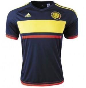 Camiseta de Colombia 15/16 Segunda Tailandia