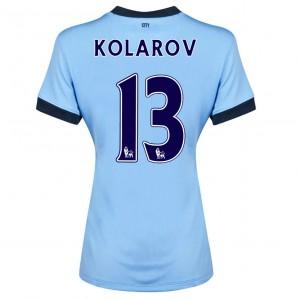 Camiseta de Manchester City 2013/2014 Primera Fernandinho