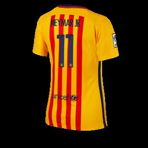 Camiseta nueva Barcelona Mujer Numero 11 Equipacion Segunda 2015/2016