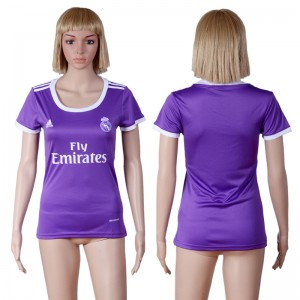 Mujer Camiseta del Real Madrid Segunda Equipacion 2016/2017
