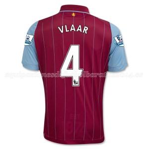 Camiseta de Aston Villa 2014/15 Primera Vlaar Equipacion
