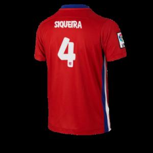 Camiseta Atletico Madrid SIQUEIRA Primera Equipacion 2015/2016
