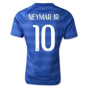 Camiseta del Neymar JR Brasil de la Seleccion Segunda WC2014