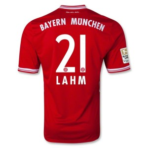Camiseta de Bayern Munich 2013/2014 Primera Lahm Equipacion