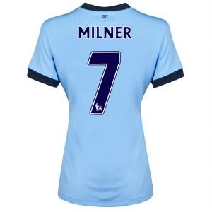 Camiseta Manchester City Dzeko Segunda 2013/2014