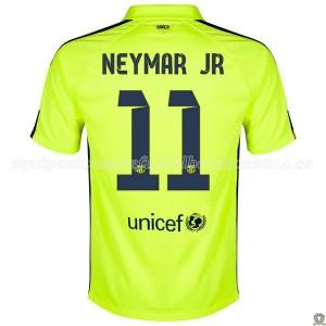 Camiseta Barcelona Neymar JR Tercera 2014/2015