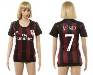 Mujer Camiseta del 7 AC Milan 2015/2016