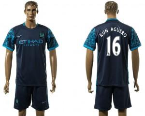 Camiseta nueva del Manchester City 16# Away