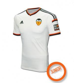 Camiseta del Valencia Primera Equipacion 2015/2016