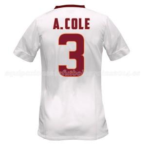 Camiseta de AS Roma 2014/2015 Segunda A.Cole Equipacion