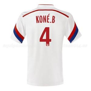Camiseta nueva del Lyon 2014/2015 Kone Primera