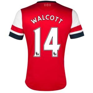 Camiseta nueva Inglaterra de la Seleccion Walcott Primera 2013/2014