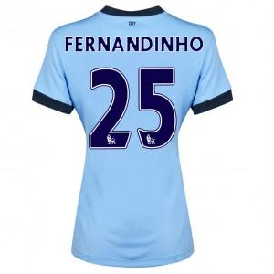 Camiseta Manchester City Fernando.R Segunda 2014/2015