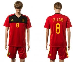 Camiseta de Belgium 2015-2016 8#