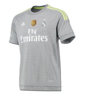 Camiseta nueva del Real Madrid 2015-2016 Visitante