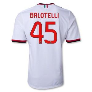 Camiseta AC Milan Balotelli Segunda Equipacion 2013/2014