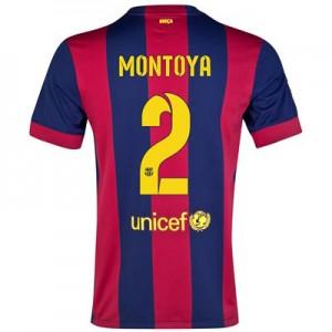 Camiseta de Barcelona 2014/2015 Primera MONTOYA Equipacion