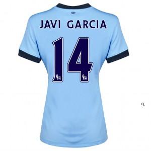 Camiseta nueva Manchester City Fernandinho Primera 2014/2015