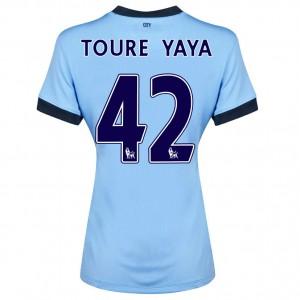 Camiseta de Manchester City 2013/2014 Primera Javi Garcia