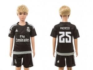 Camiseta nueva del Real Madrid 2015/2016 goalkeeper 25 Niños