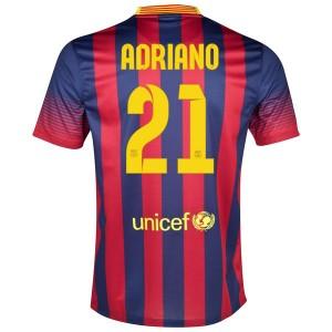 Camiseta del Adriano Barcelona Primera 2013/2014