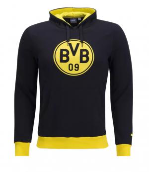 Camiseta nueva Borussia Dortmund Crest Hoody 2017/2018