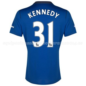 Camiseta del Kennedy Everton 1a 2014-2015